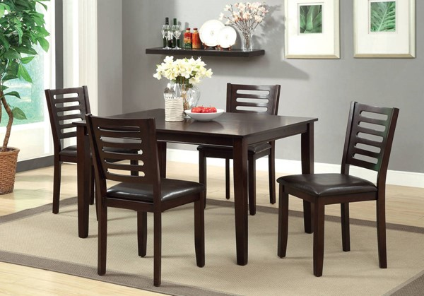 Furniture of America Amador I 5pc Dining Room Set FOA-CM3011T-5PK