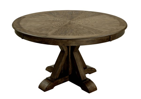 Furniture of America Julia Round Dining Table FOA-CM3014RT