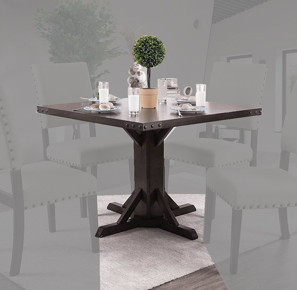 Furniture of America Glenbrook Brown Cherry Dining Table FOA-CM3018T