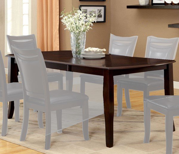 Furniture of America Woodside Dining Table FOA-CM3024T