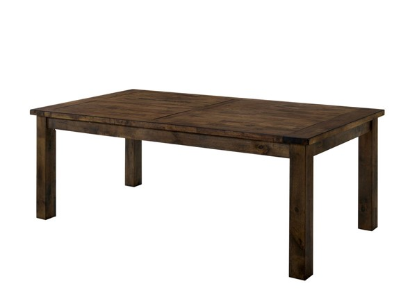 Furniture of America Kristen Rustic Oak Dining Table FOA-CM3060T