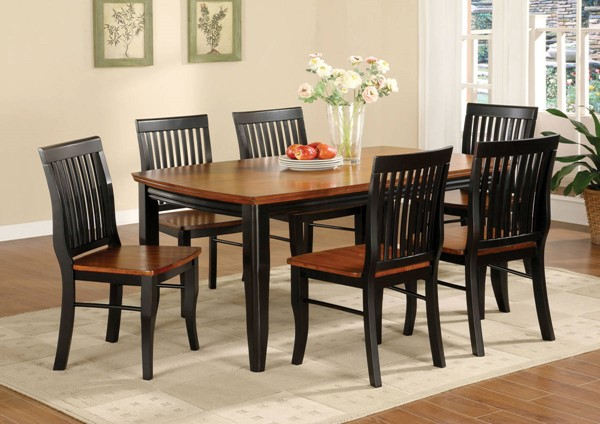 Furniture of America Earlham Dining Table FOA-CM3101T