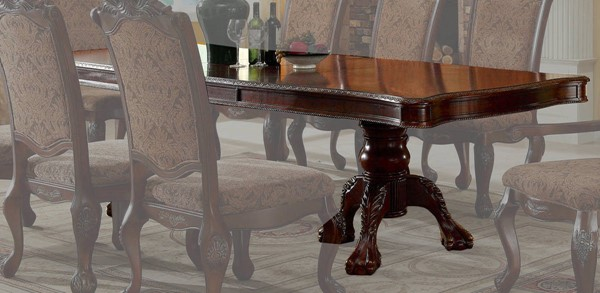 Furniture of America Cromwell Formal Dining Table FOA-CM3103T-TABLE