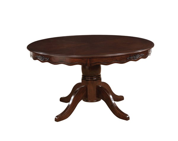 Furniture of America Townsville Round Dining Table FOA-CM3109RT-TABLE