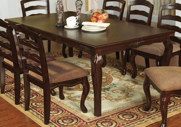 Furniture of America Townsville 78 Inch Dining Table FOA-CM3109T-78