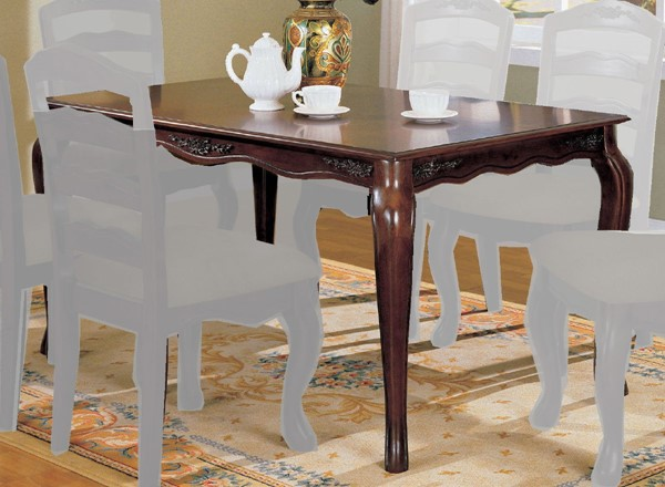 Furniture of America Townsville 60 Inch Dining Table FOA-CM3109T