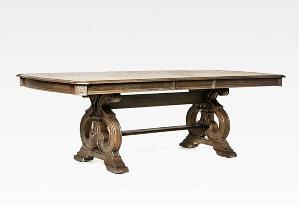 Furniture Of America Arcadia Natural Tone Dining Table FOA-CM3150T-TABLE