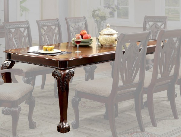 Furniture of America Petersburg I 18 Inch Leaf Dining Table FOA-CM3185T