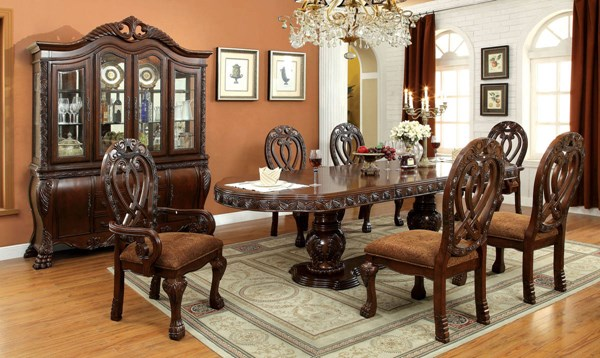 Furniture of America Wyndmere Dining Room Set FOA-CM3186-DR