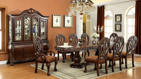 Furniture of America Wyndmere Dining Tables FOA-CM3186-DT-VAR