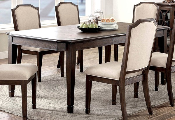 Furniture of America Haylee Dining Table FOA-CM3193T