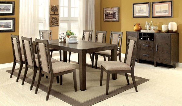 Furniture of America Eris I Dining Table FOA-CM3213T