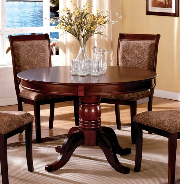 Furniture of America St Nicholas II Round Dining Table FOA-CM3224RT-TABLE