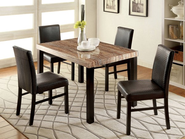 Furniture of America Rockham I Dining Table FOA-CM3278T
