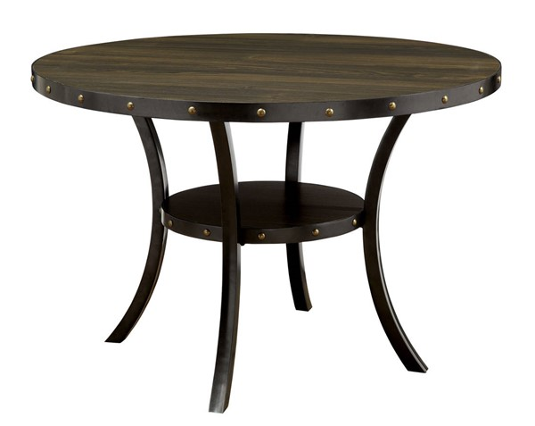 Furniture of America Kaitlin Round Dining Table FOA-CM3323RT