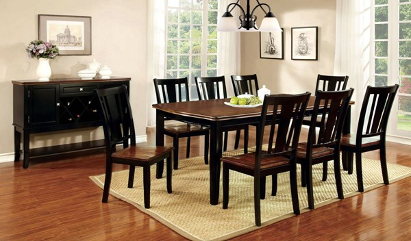 Furniture of America Dover Dining Room Set FOA-CM3326-DR