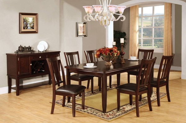 Furniture of America Edgewood I Dining Table FOA-CM3336T