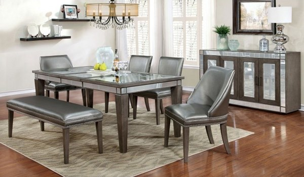 Furniture of America Sturgis Dining Table FOA-CM3352T