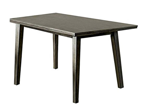 Furniture of America Abelone Gray Dining Table FOA-CM3354GY-T