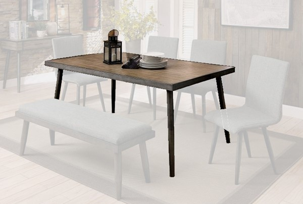 Furniture of America Vilhelm I Dining Table FOA-CM3360T