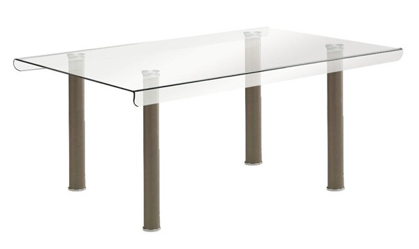 Furniture of America Walkerville I Champagne Dining Table FOA-CM3361T-TABLE
