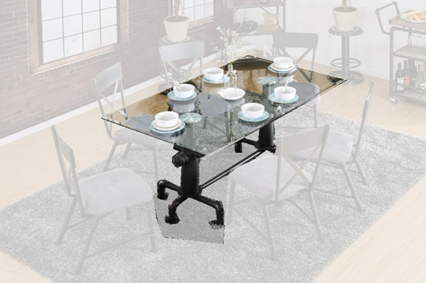 Furniture of America Flaherty I Dining Table FOA-CM3366T-TABLE