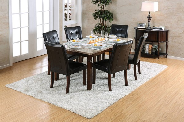 Furniture of America Marstone Dining Table FOA-CM3368T