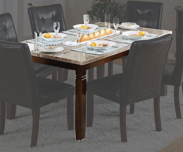 Furniture of America Marstone Brown Cherry Dining Table FOA-CM3368T