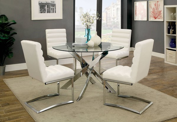 Furniture of America Yasmin Dining Table FOA-CM3381T-TABLE