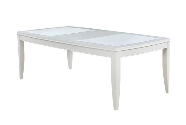Furniture of America Madeline Antique White Dining Table FOA-CM3396T
