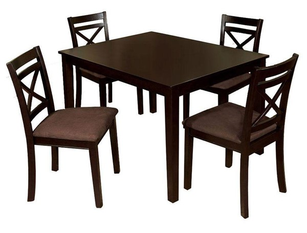 Furniture of America Weston I 5pc Dining Room Set FOA-CM3400T-5PK