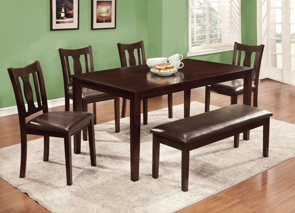 Furniture of America Northvale II 6pc Dining Room Set FOA-CM3402T-6PK