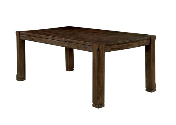 Furniture of America Scranton Walnut Dining Table FOA-CM3410T