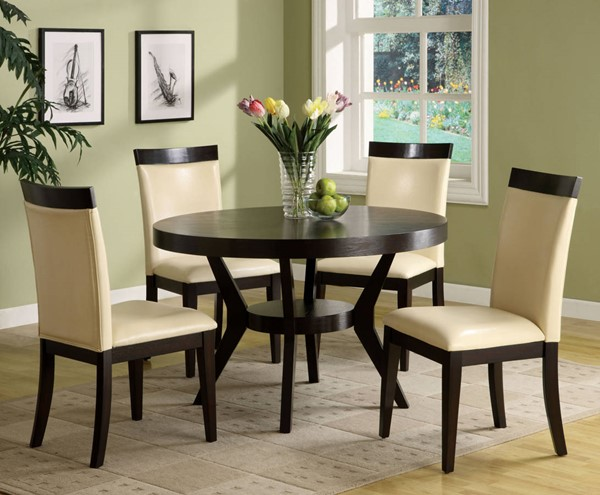 Furniture of America Downtown I Round Dining Table FOA-CM3423T