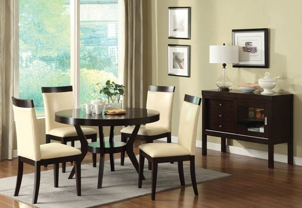 Furniture of America Downtown I Dining Room Set FOA-CM3423-DR