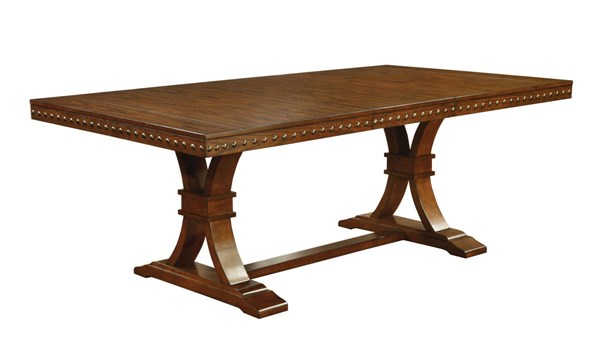 Furniture of America Foster I 18 Inch Leaf Dining Table FOA-CM3437T-TABLE