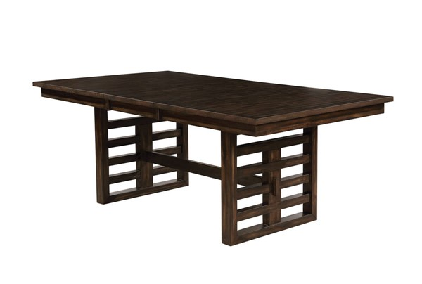 Furniture of America Ryegate Rustic Natural Dining Table FOA-CM3438T-TABLE