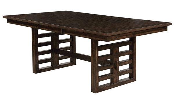 Furniture of America Ryegate Rustic Natural Tone Dining Table FOA-CM3438T-TABLE
