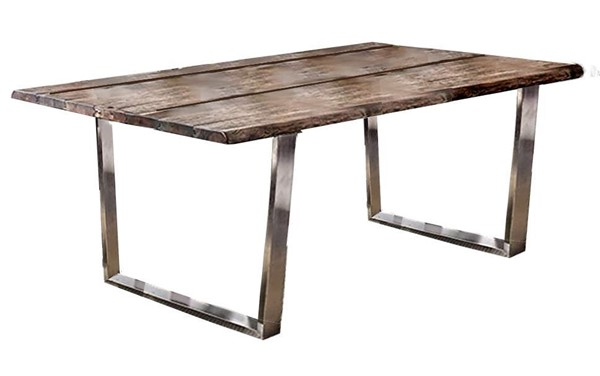 Furniture of America Mandy Oak Dining Table FOA-CM3451A-T-TABLE