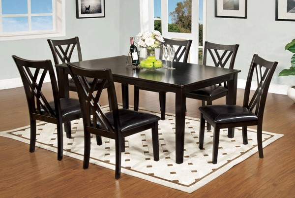 Furniture of America Springhill 5pc Dining Room Set FOA-CM3460T-7PK
