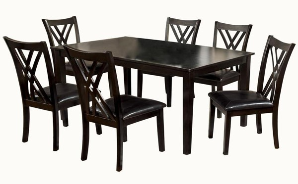 Furniture Of America Springhill 7pc Dining Room Set FOA-CM3460T-7PK