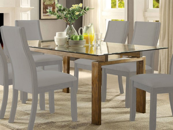 Furniture of America Onway Dining Table FOA-CM3461T-TABLE