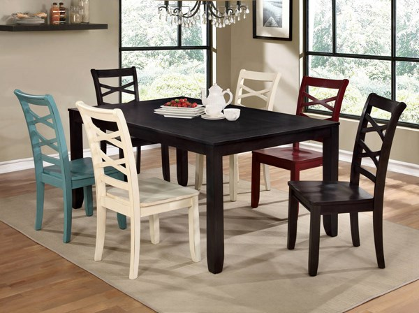 Furniture of America Giselle Dining Room Set FOA-CM3528-DR