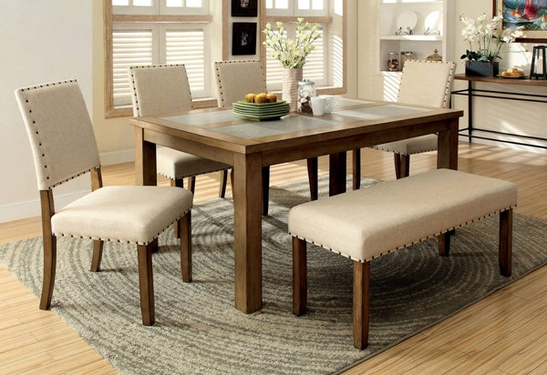 Furniture of America Melston I Dining Table FOA-CM3531T
