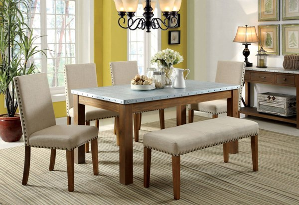 Furniture of America Walsh Dining Table FOA-CM3535T