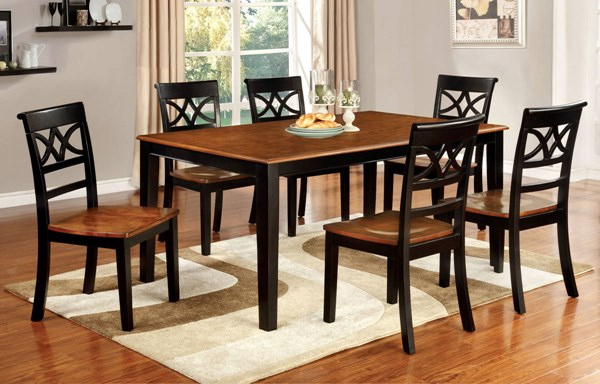 Furniture of America Torrington Dining Room Set FOA-CM3552-DR