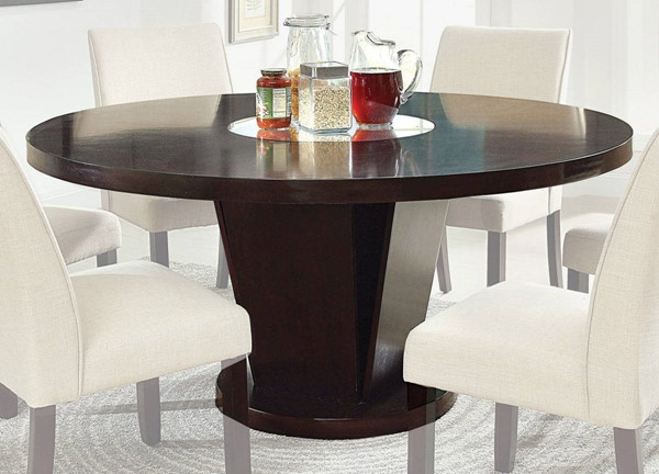 Furniture of America Cimma Round Dining Table FOA-CM3556T-TABLE