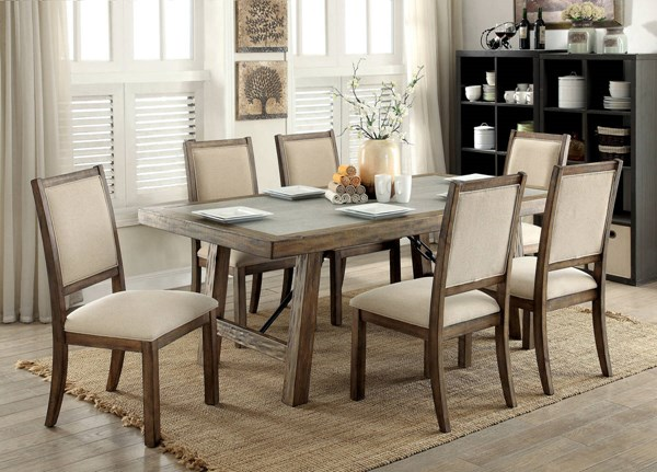 Furniture of America Colette Dining Table FOA-CM3562T-78