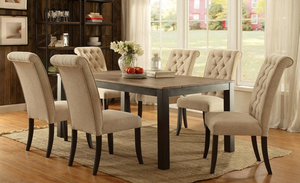 Furniture of America Marshall Dining Room Set FOA-CM3564-DR