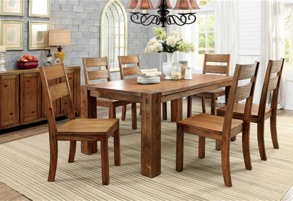 Furniture of America Frontier Dining Table FOA-CM3603T